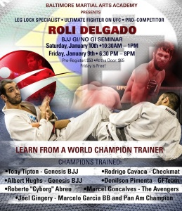 Leg Locks Roli Delgado