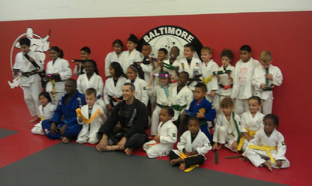 Baltimore Martial Arts Children Brazilian Jiu Jitsu