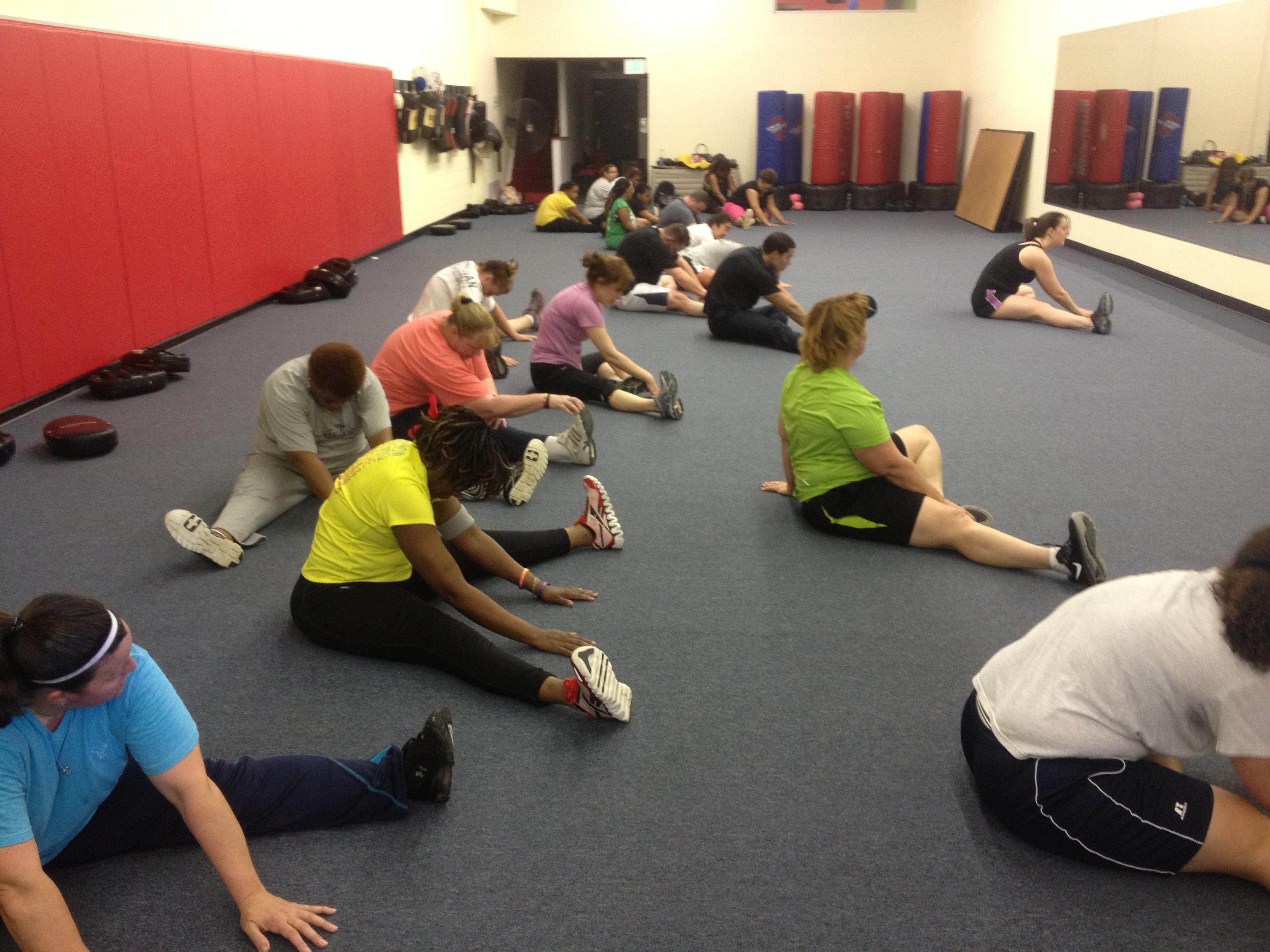 kickboxing stretching