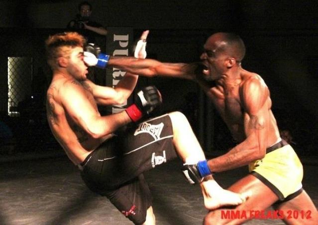 Tenya Dixon MMA Fighter Baltimore