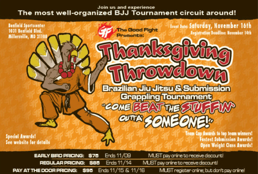 The Good Fight Thanksgiving Throwdown