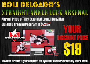 Roli Delgado Straight Ankle Lock Arsenal