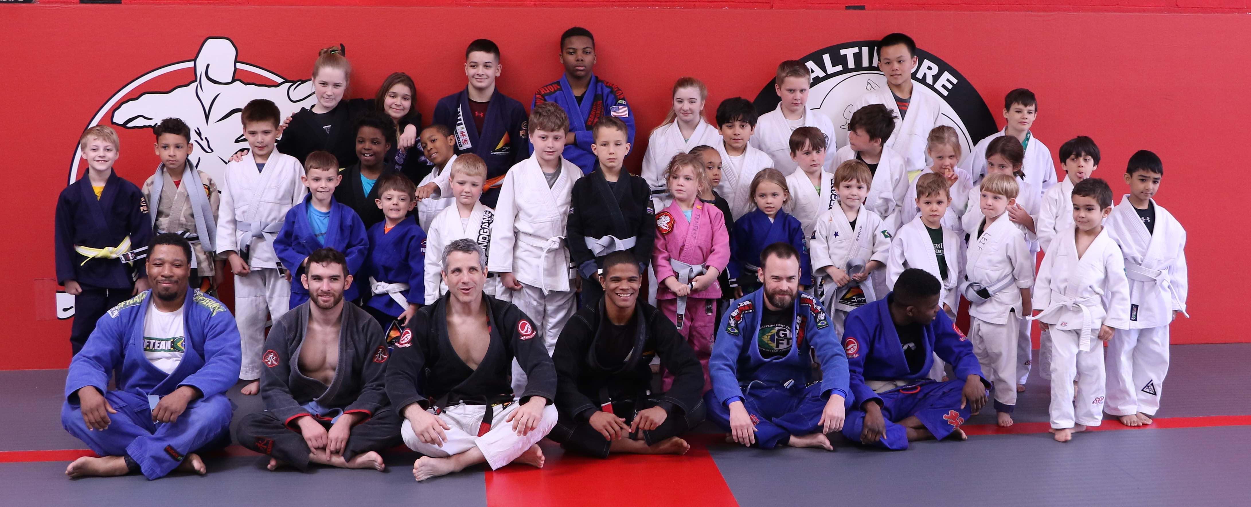 Kids BJJ Classes in Catonsville